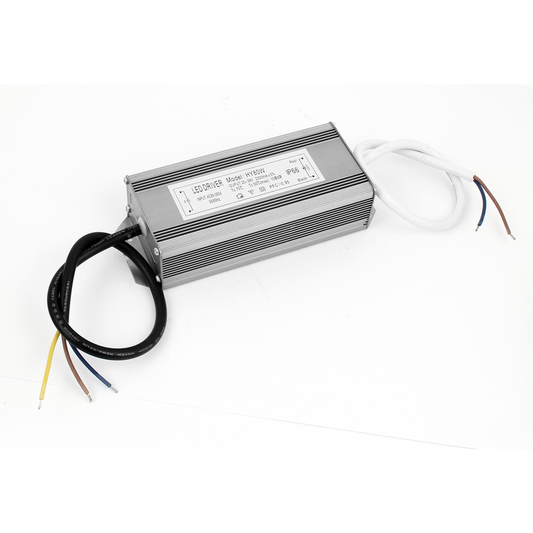 AC85-265V to DC20-38V 80W Transformer IP66 Waterproof LED Driver Power Supply