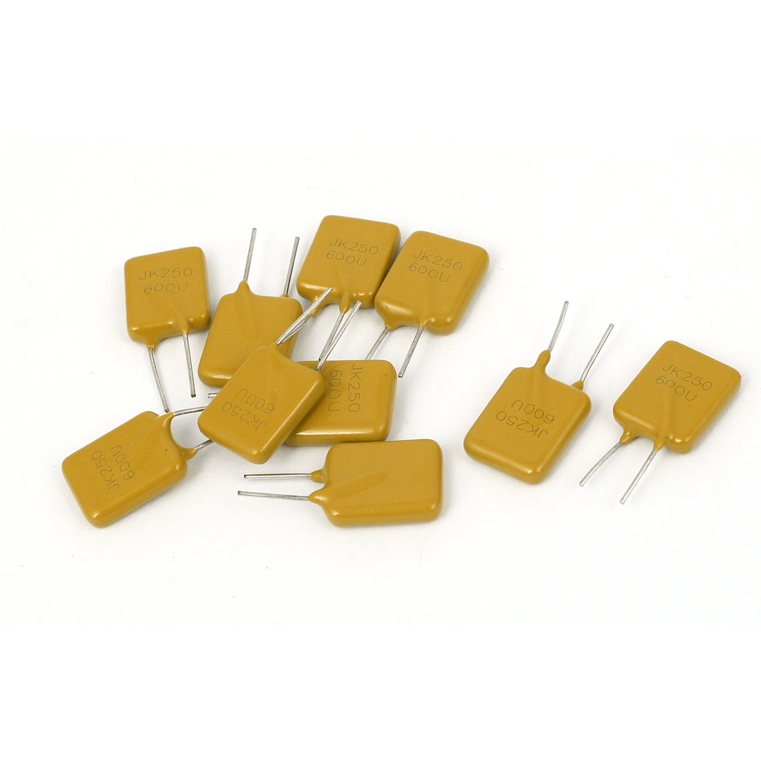 10 Pcs 250V 0.6A Resettable Fuse Radial Through Hole PPTC Polyswitch