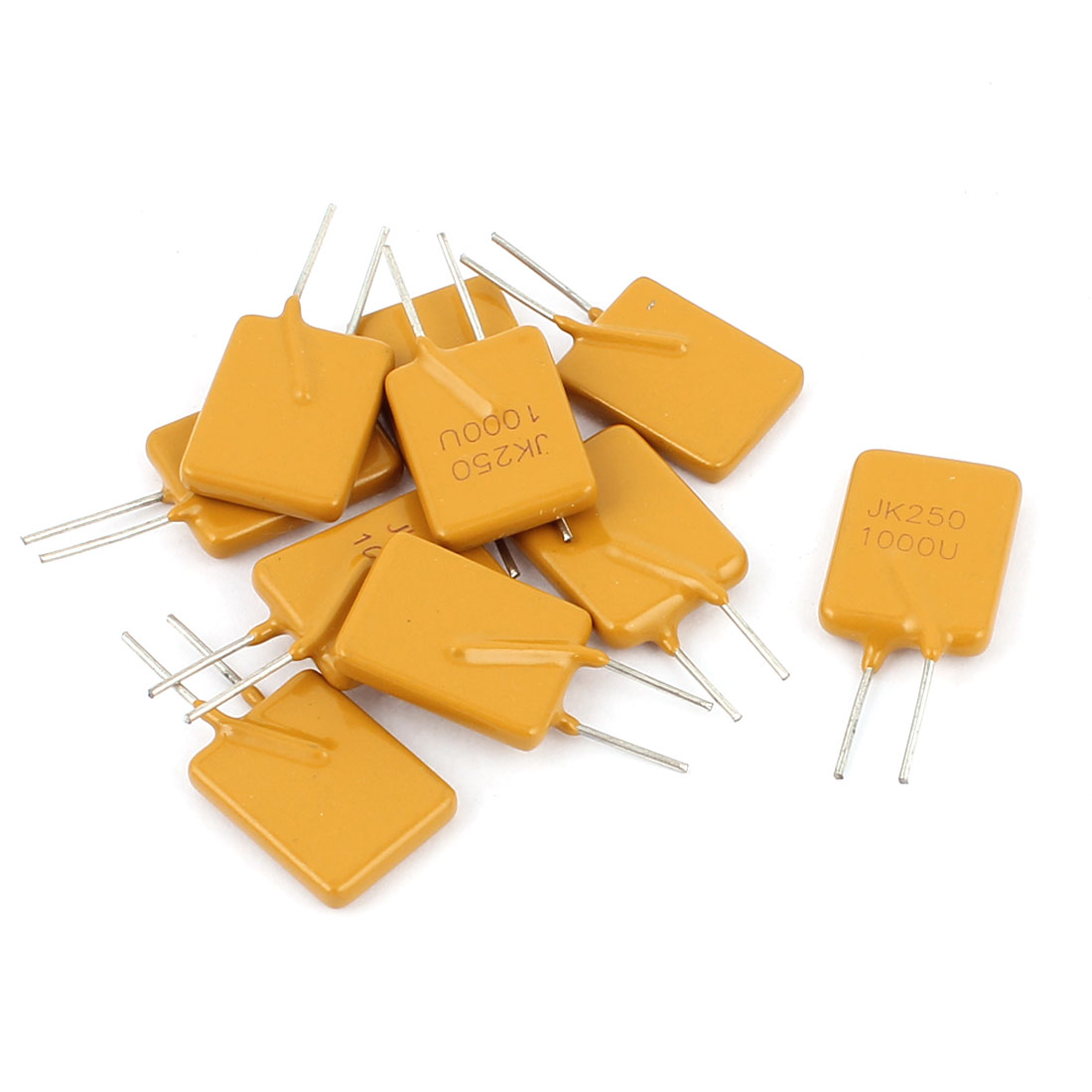 10 Pcs 250V 1A Resettable Fuse Radial Through Hole PPTC Polyswitch