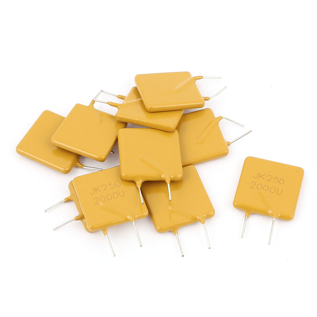 10 Pcs 250V 2A Resettable Fuse Radial Through Hole PPTC Polyswitch