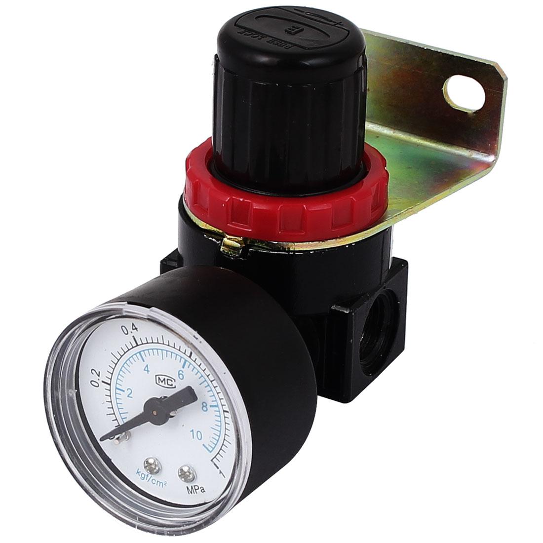 AR2000 Adjustable Pressure Gauge Air Source Filter Pneumatic Regulator Valve
