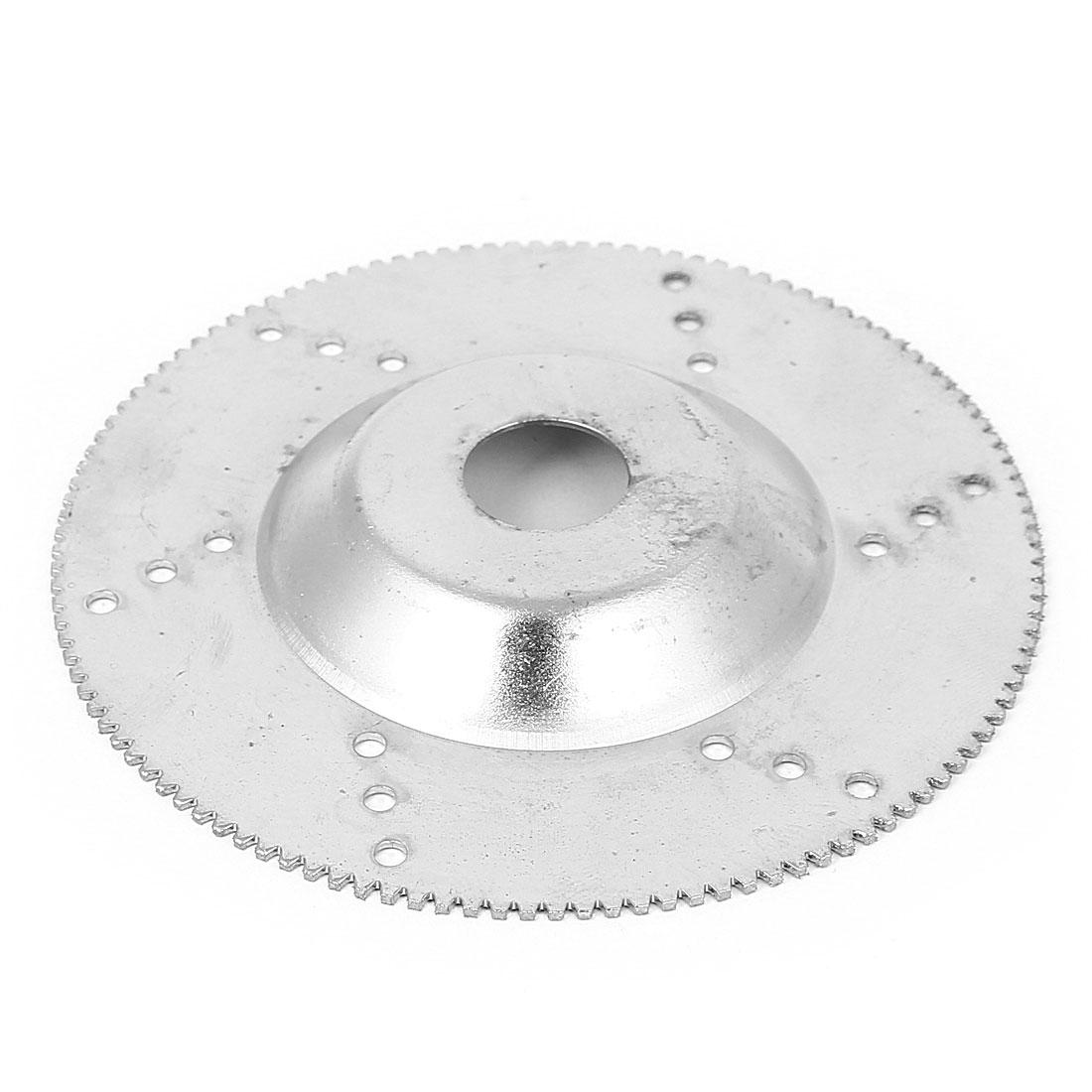 100mm x 16mm Diamond Coated Jewelry Grinding Polishing Disc Wheel Silver Tone
