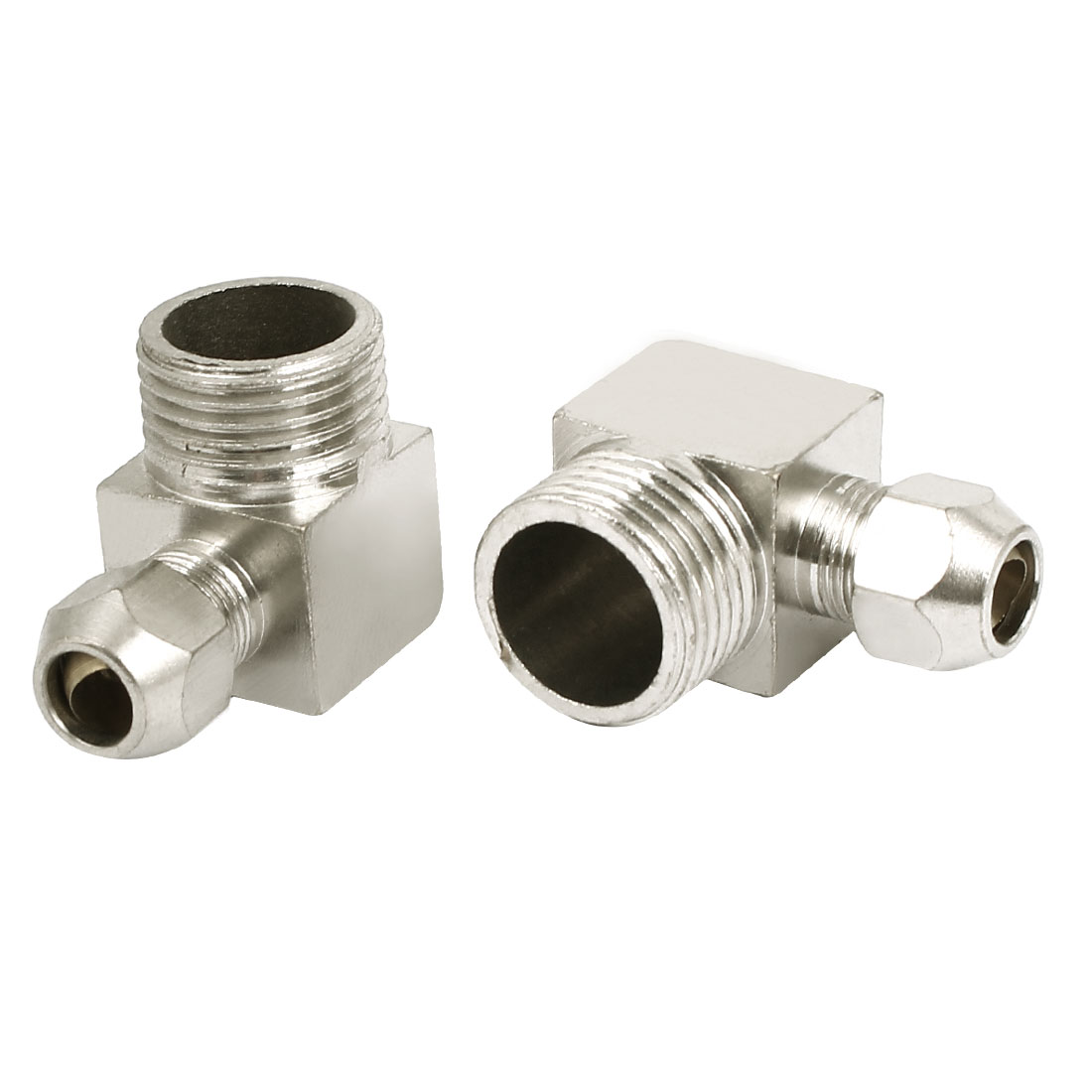 1/2BSP Male Thread L Type Air Quick Release Coupler Fitting Connector 2Pcs