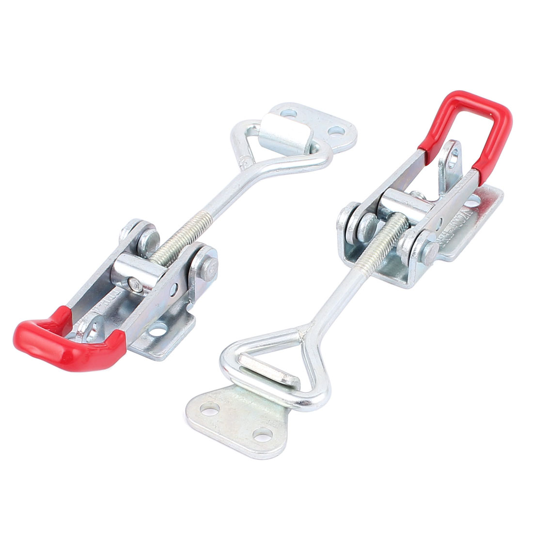4002A 180Kg/397Lbs Holding Capacity Pull Latch Toggle Clamps 2Pcs