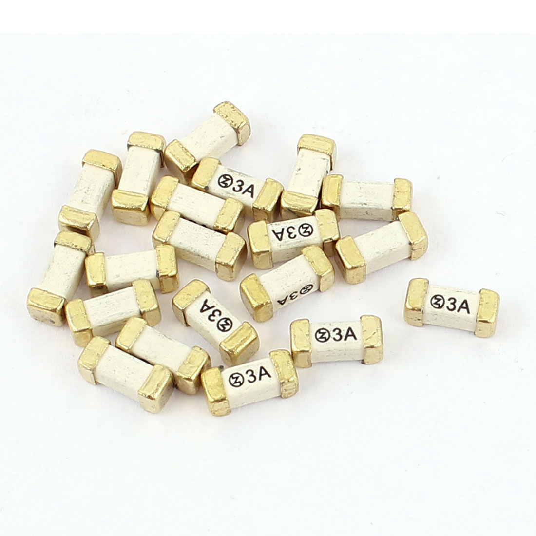 20Pcs Ceramic Chip Quick Blow Fast Acting Surface Mount SMD 6125 Fuses 3A 250V