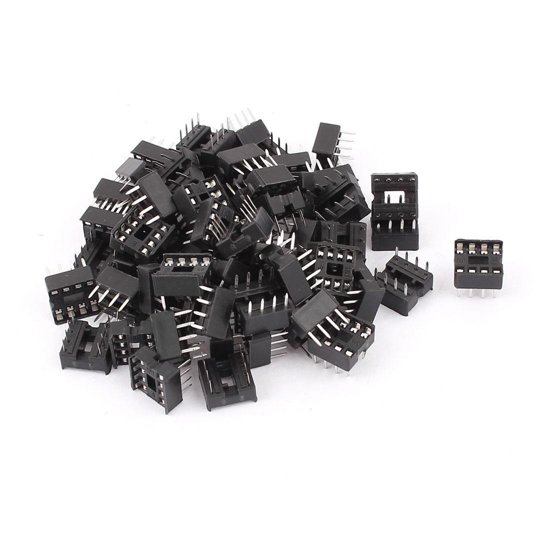 60pcs Solder Type 8PIN DIP Integrated Circuit IC Sockets Adaptor