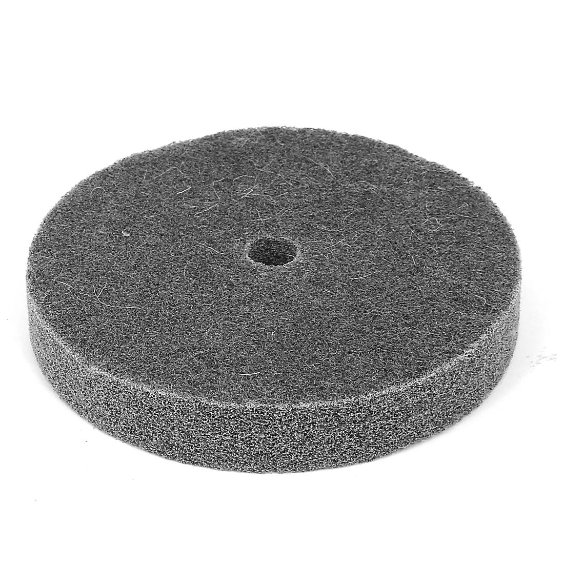 150mm Dia 25mm Thick 180 Grit Nylon Fiber Wheel Abrasive Polishing Buffing Disc