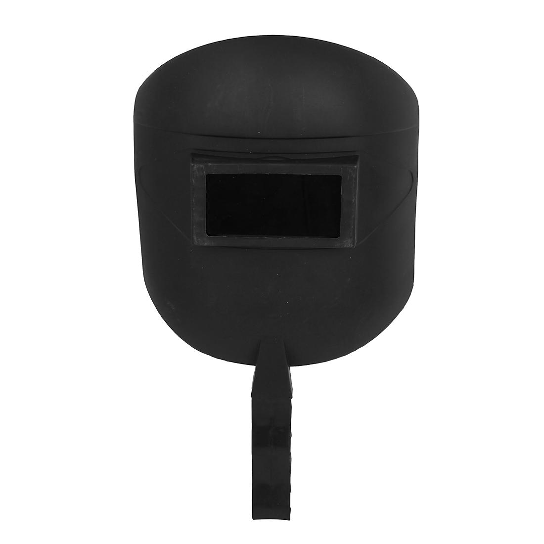 Black Plastic Detachable Safety Welding Helmet Handheld Mask Face Protector for Welder
