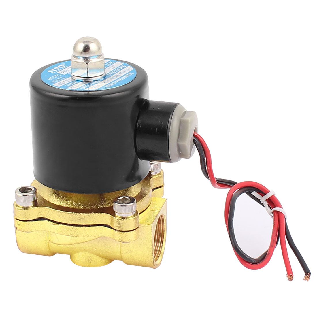 "DC 12V 2 Ways 1/2""PT Female Thread Pneumatic Electric Solenoid Valve"