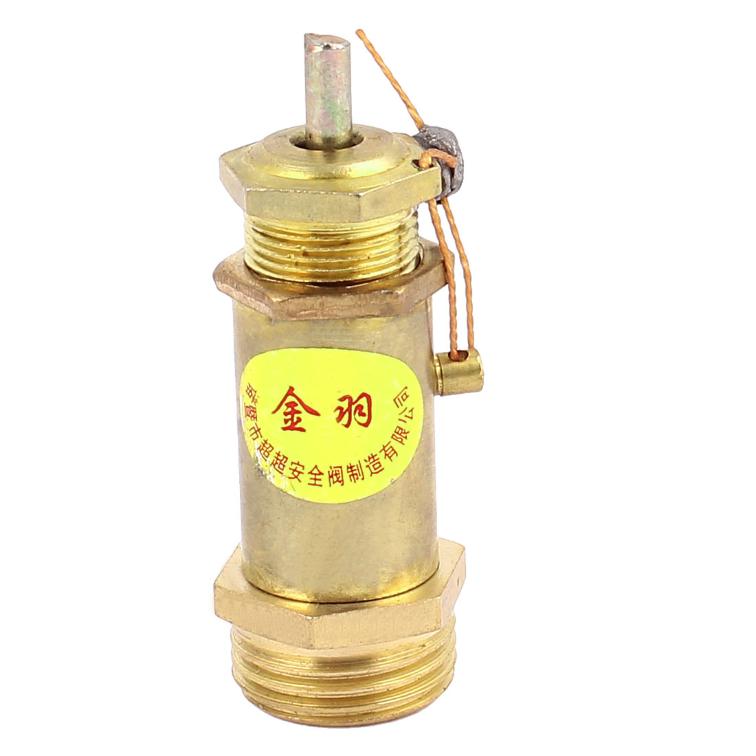Metal 1/2BSP Male Thread Pneumatic Air Compressor Safety Relief Valve