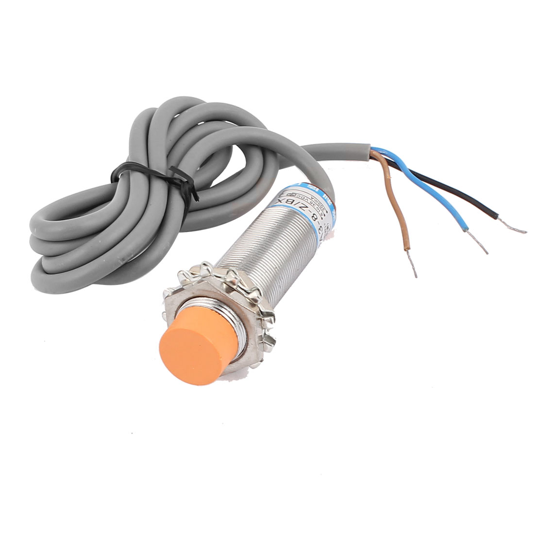 DC 6-36V 300mA 8mm NPN 3-Wire Tubular Inductive Proximity Sensor Switch