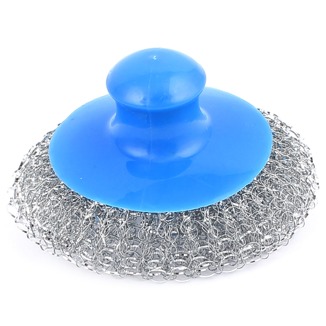 Cookware Pot Pan Bowel Stainless Steel Wire Scouring Pad Scrubber Cleaning Brush Cleaner Blue