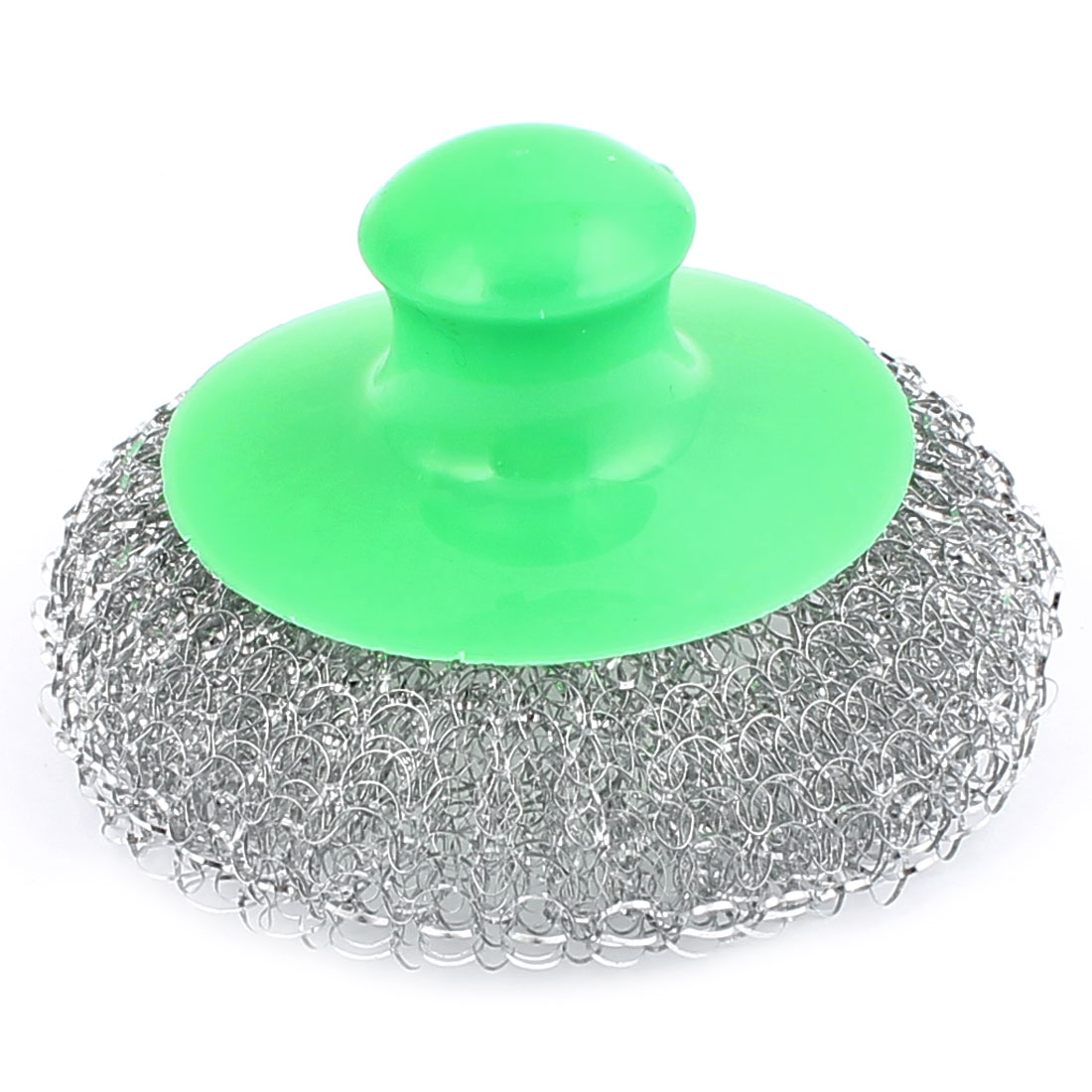 Kitchen Pot Pan Dish Bowel Steel Wire Scouring Pad Scrubber Cleaning Brush Cleaner Green