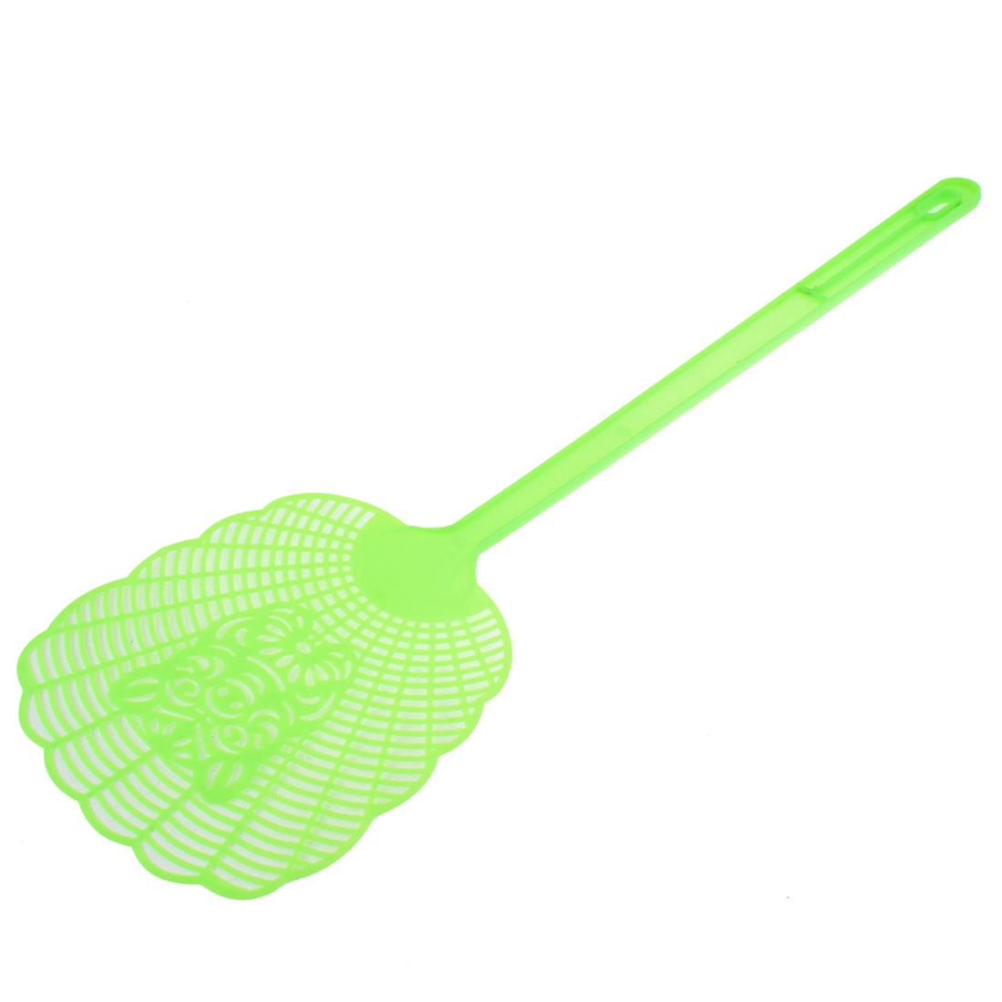 Household Plastic Mosquito Cockroach Insects Fly Swatter 48cm Green