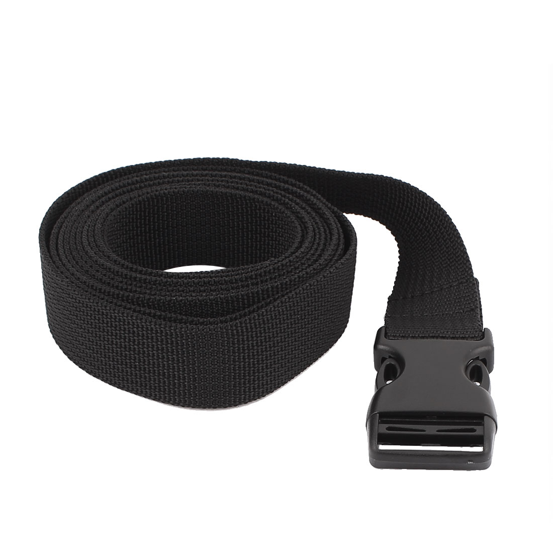 Travel Plastic Release Buckle Adjustable Luggage Backpack Baggage Strap Belt Band 2M Length 25mm Width