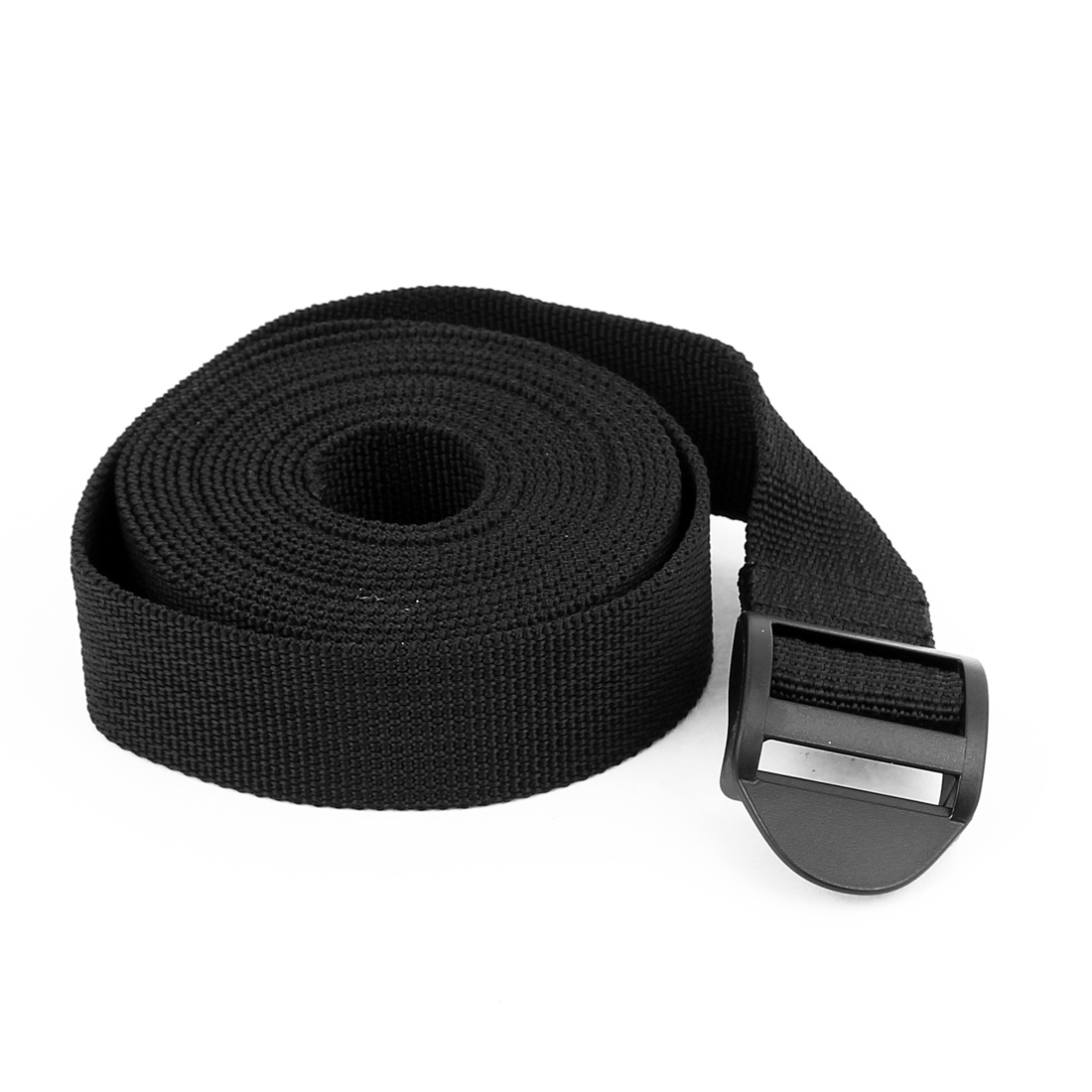 Outdoor Travel Plastic Release Buckle Adjustable Luggage Backpack Packing Strap Belt 3Meter x 25mm