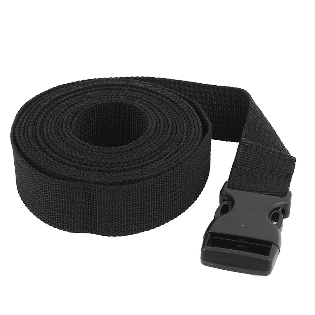 Travel Plastic Release Buckle Adjustable Luggage Backpack Packing Strap Belt Band 3Meter x 25mm