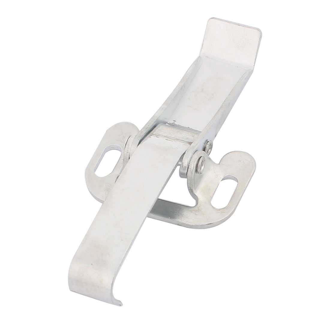 Suitcase Toolbox Box Case Metal Draw Toggle Latch Catch Silver Tone 11cm Long