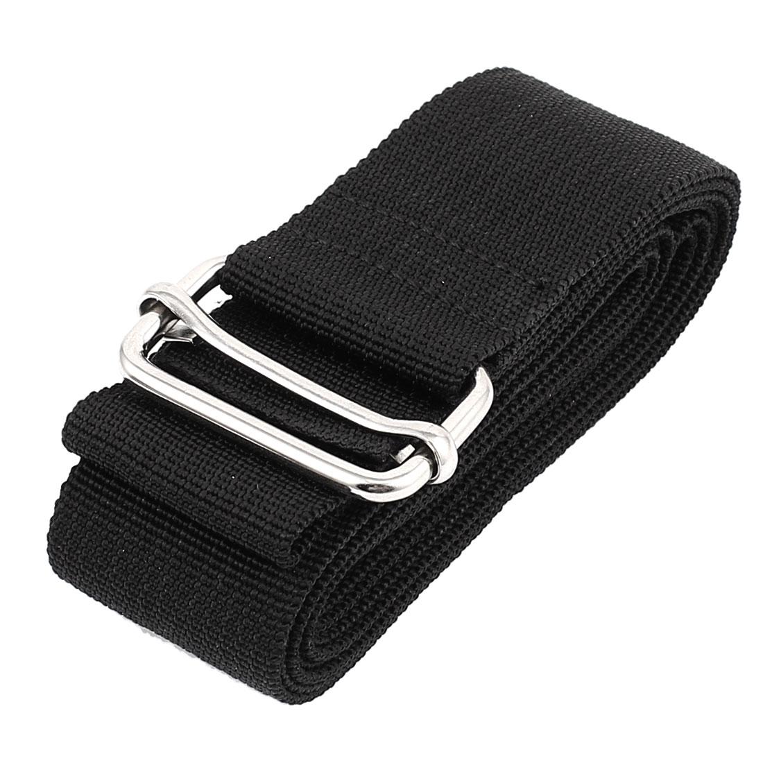 Outdoor Travel Metal Buckle Adjustable Luggage Suitcase Backpack Strap Belt 2M Length 38mm Width