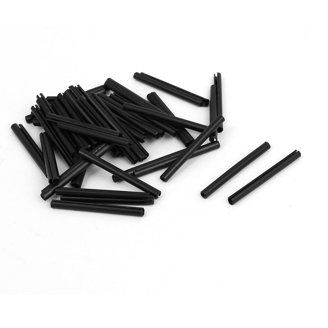 M2x25mm Carbon Steel Split Spring Cylindrical Pin Dowel Cotter Pins Hardware 50pcs