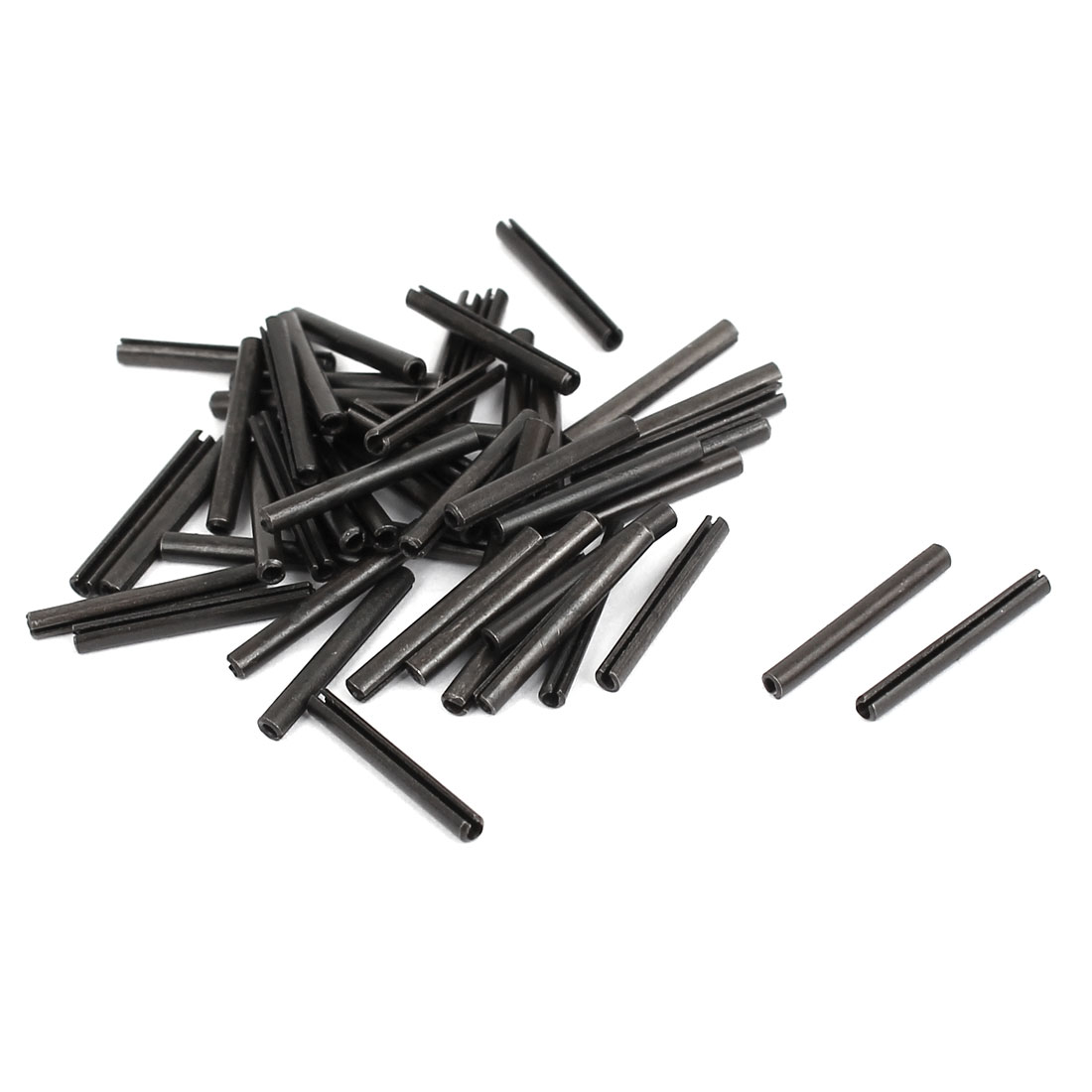 M1.5x14mm Carbon Steel Split Spring Cylindrical Pin Dowel Cotter Pins Hardware 50pcs