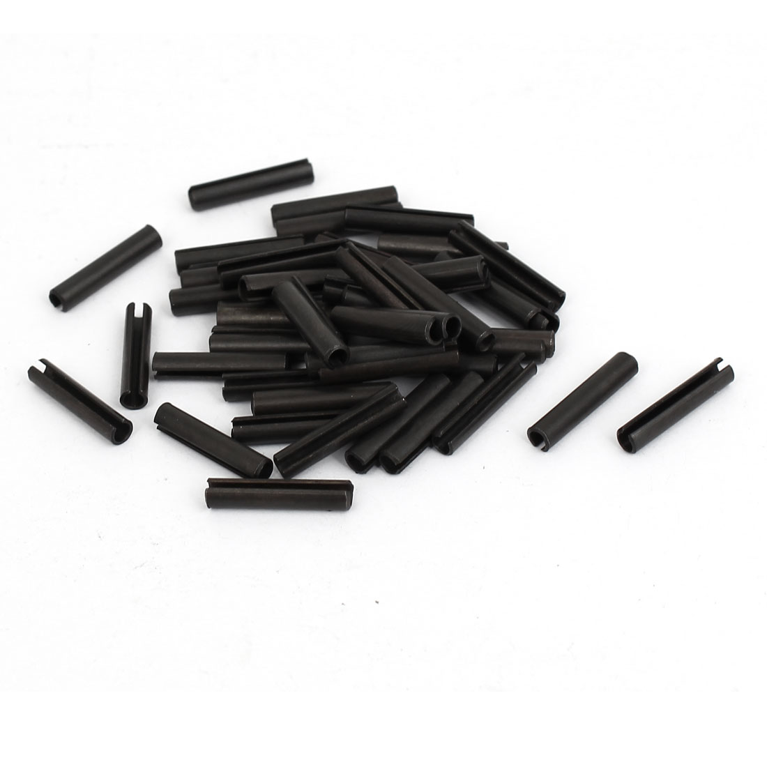 M3x16mm Carbon Steel Split Spring Roll Dowel Pins Fasteners 50pcs