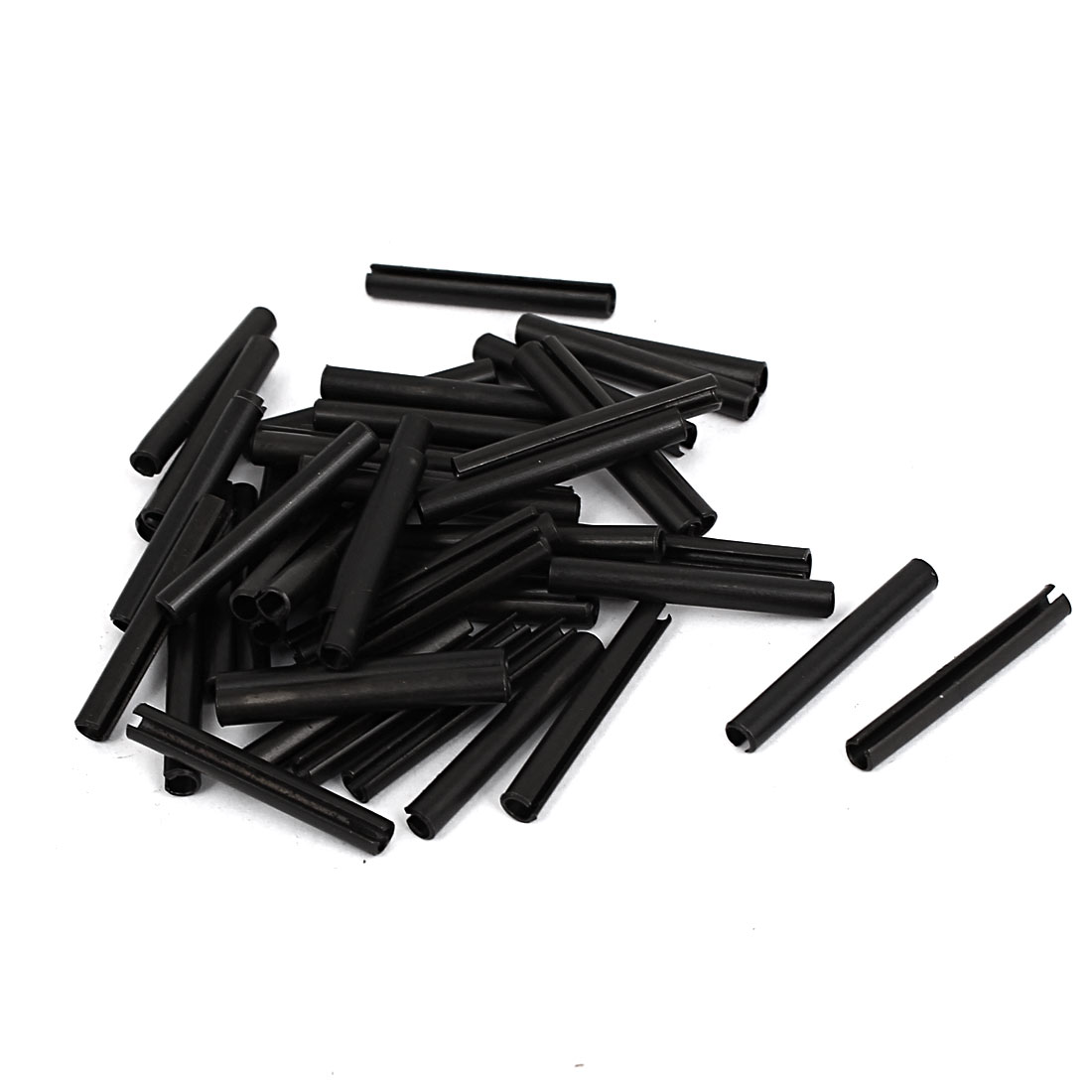 M3x25mm Carbon Steel Split Spring Dowel Pin Cotter Pins Hardware 50pcs