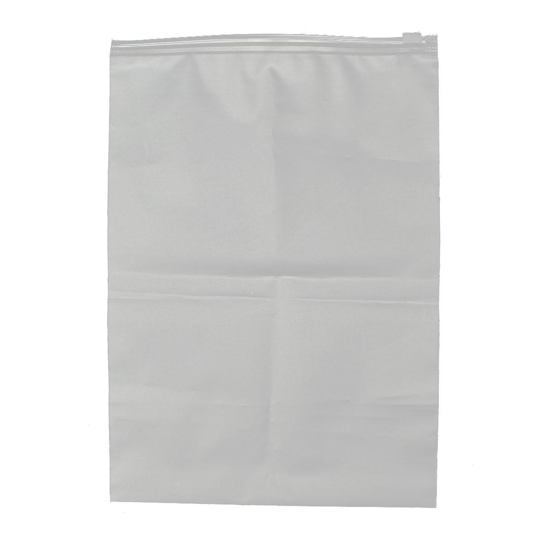 Sundries Storage Bag Organizer Conatiner Holder Clear White 28 x 20cm