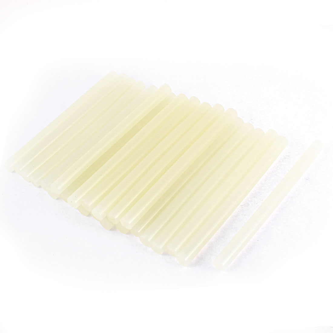 24Pcs Beige Glue Stick Hot Melt Gun Car Sudio Technology 150mm x 11mm