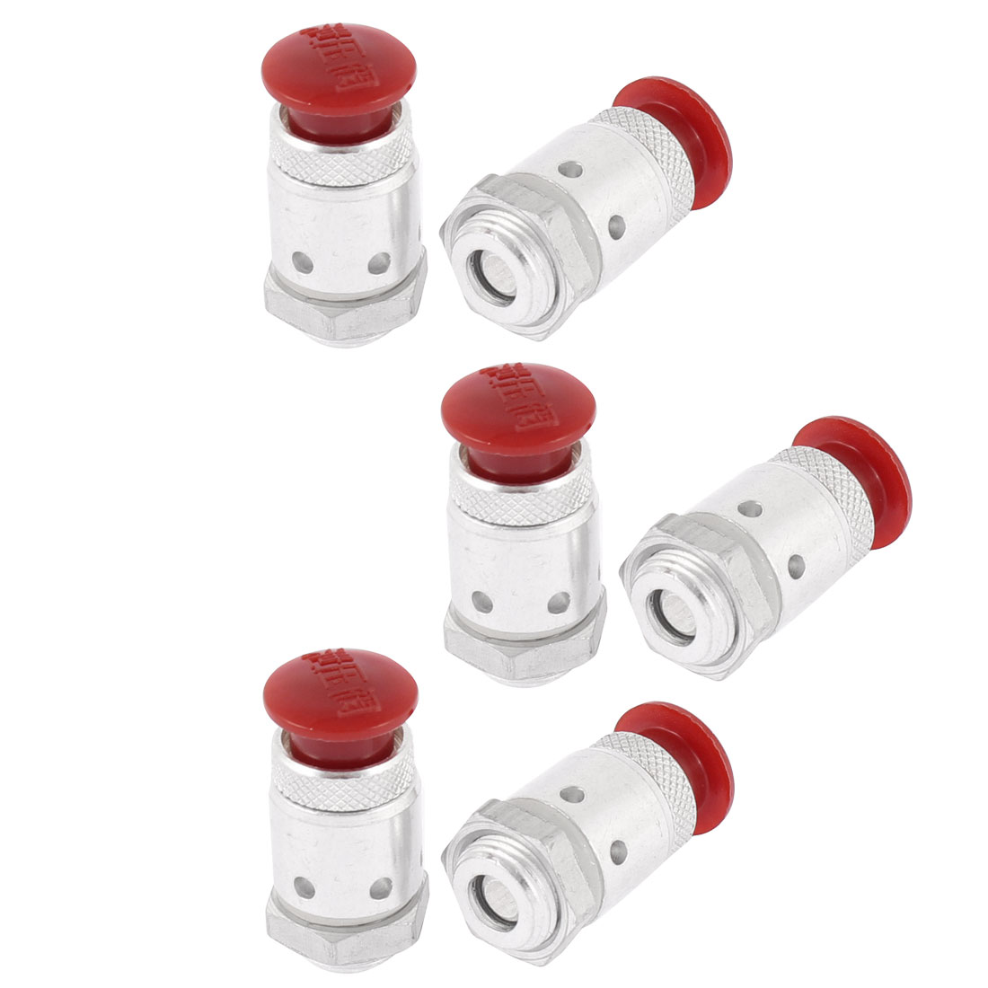 1/4BSP Thread Home Kitchen Pressure Cooker Safety Valve Fitting 6Pcs