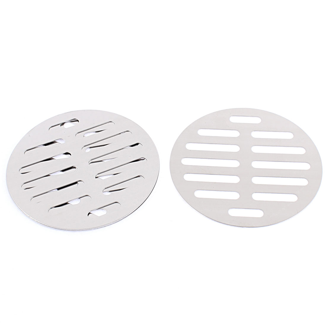 "Kitchen Bathroom Round Floor Drain Drainer Cover 4"" 10cm Dia 4Pcs"