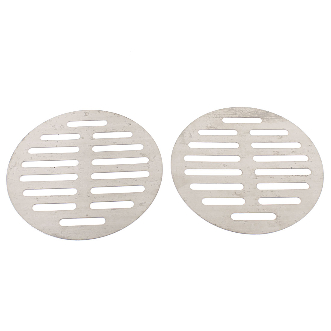 "Kitchen Bathroom Round Floor Drain Drainer Cover 5"" 12.5cm Dia 2Pcs"