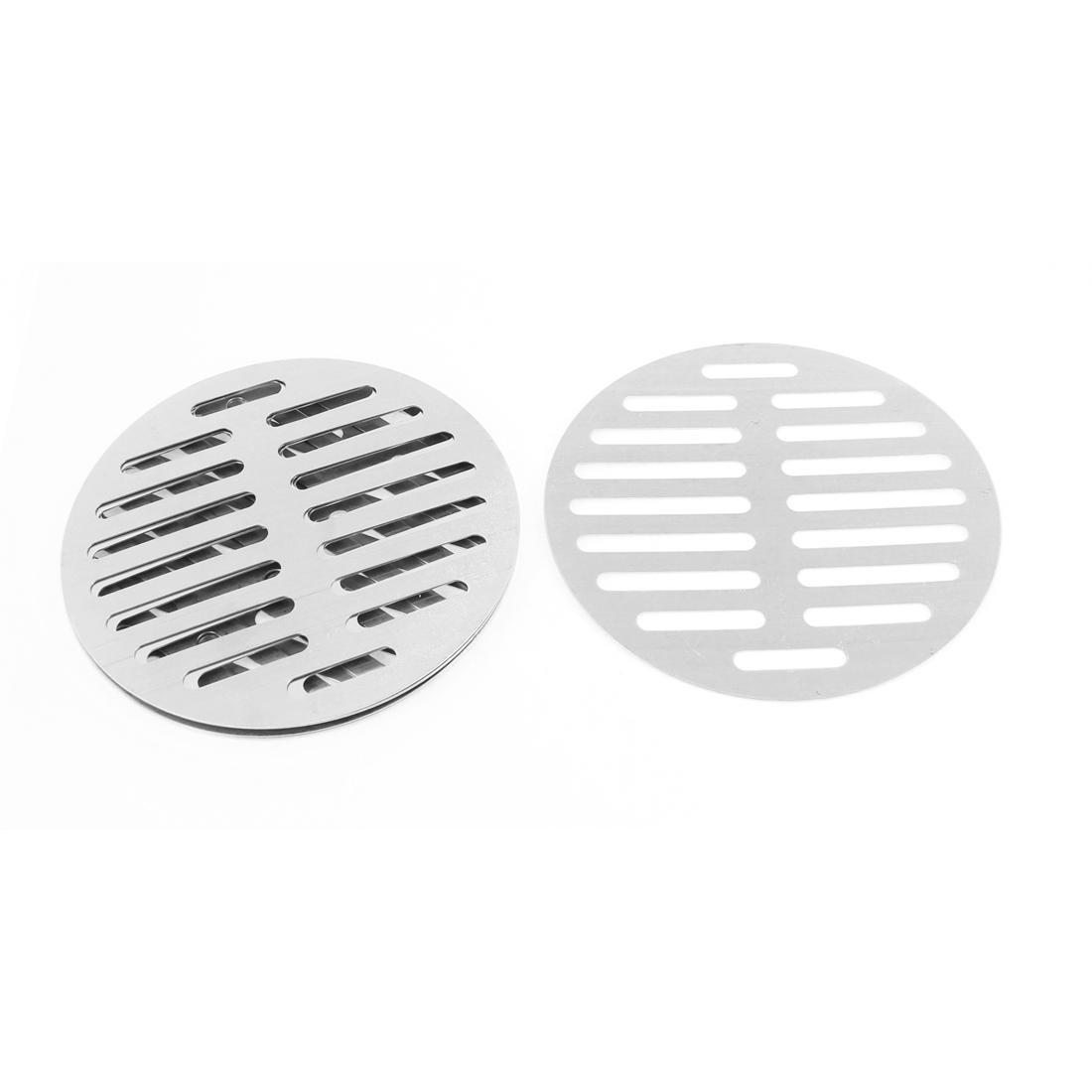 """Kitchen Bathroom Round Floor Drain Drainer Cover 6"""" 15cm Dia 6Pcs"""