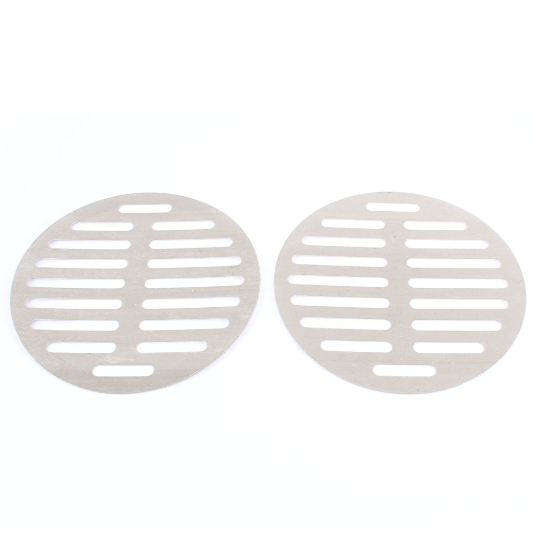"Kitchen Bathroom Round Floor Drain Drainer Cover 6"" 15cm Dia 2Pcs"
