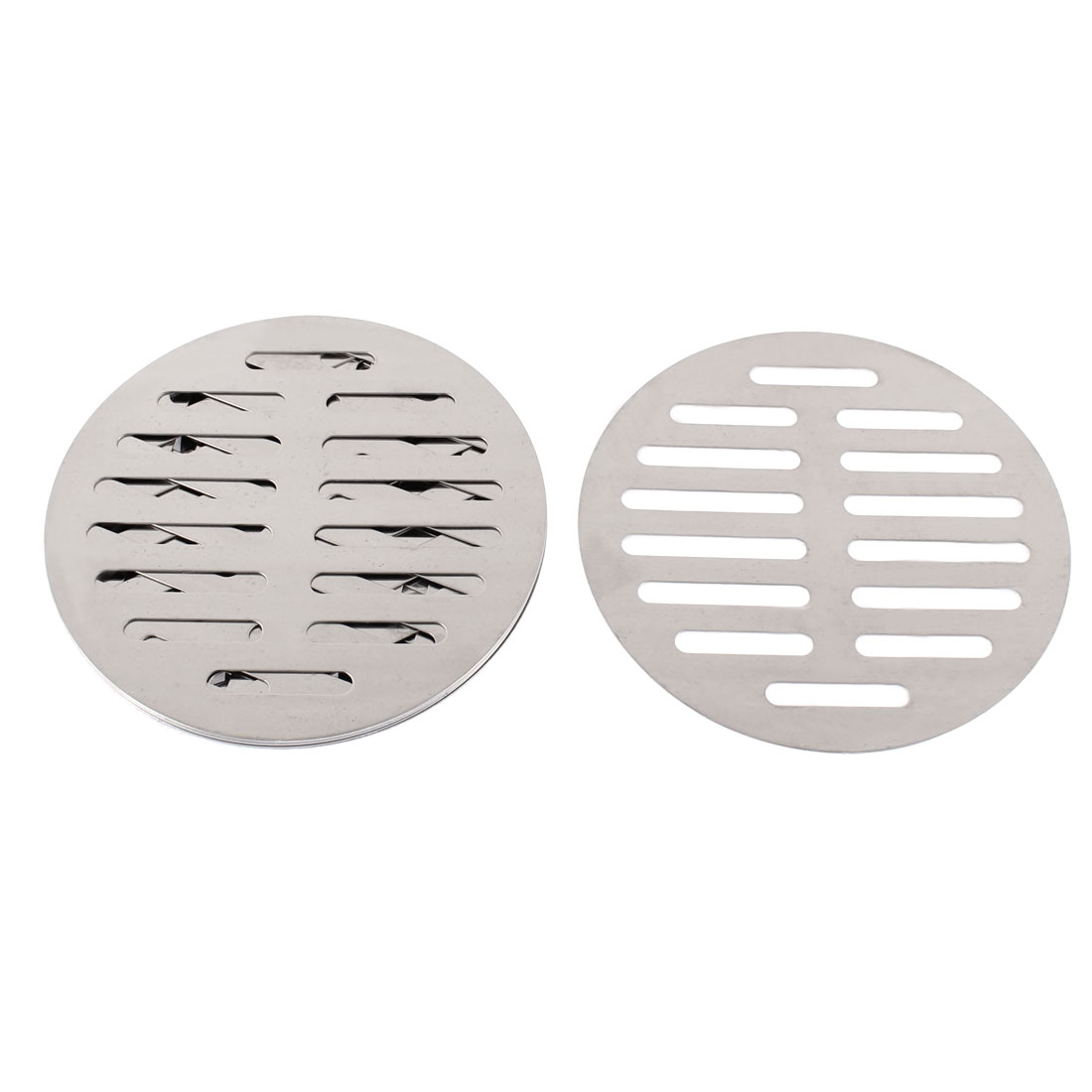 "Kitchen Bathroom Round Floor Drain Drainer Cover 5"" 12.5cm Dia 8Pcs"
