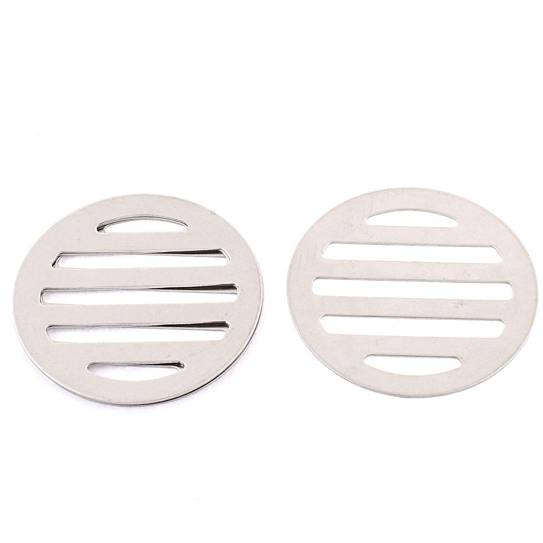 """Kitchen Bathroom Round Floor Drain Drainer Cover 2.5"""" 6.3cm Dia 4Pcs"""