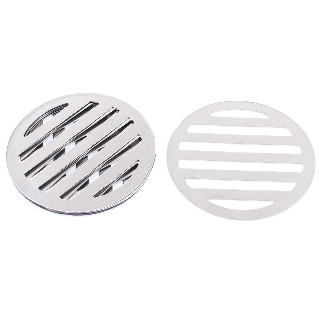 "Kitchen Bathroom Round Floor Drain Drainer Cover 3.4"" 8.6cm Dia 6Pcs"