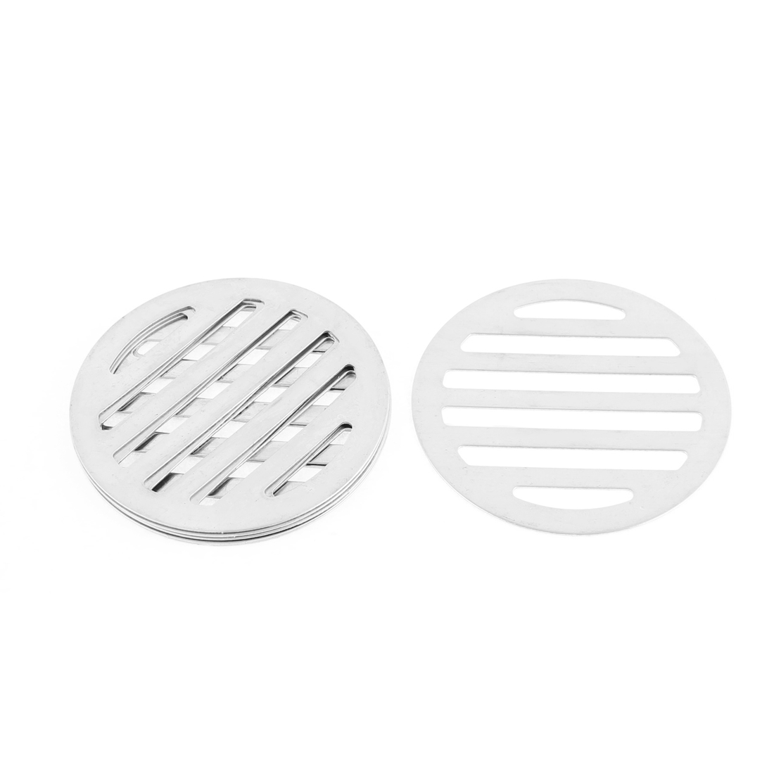 "Kitchen Bathroom Round Floor Drain Drainer Cover 3"" 7.5cm Dia 6Pcs"