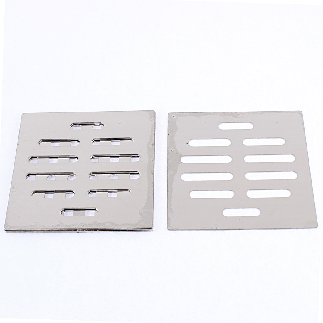 Kitchen Bathroom Square Floor Drain Drainer Cover 8.7cm x 8.7cm 6Pcs