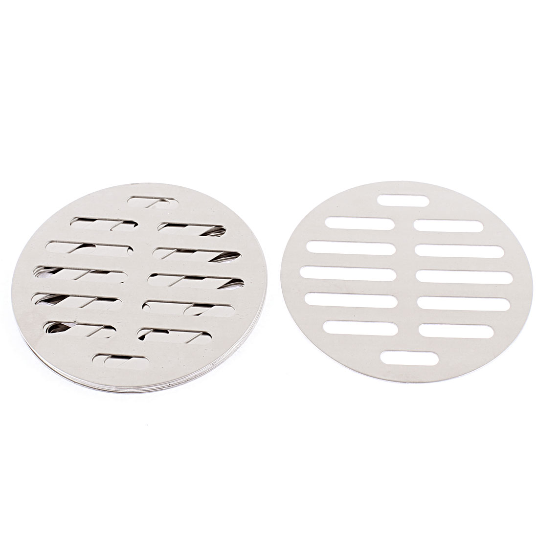 "Kitchen Bathroom Round Floor Drain Drainer Cover 4"" 10cm Dia 8Pcs"