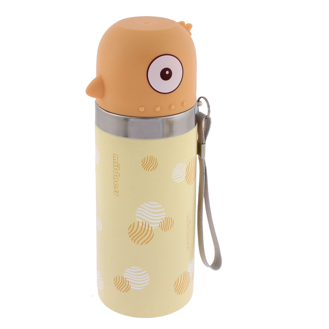 350ml Push Button Vacuum Insulated Heat Retaining Bottle Flask Travel Mug