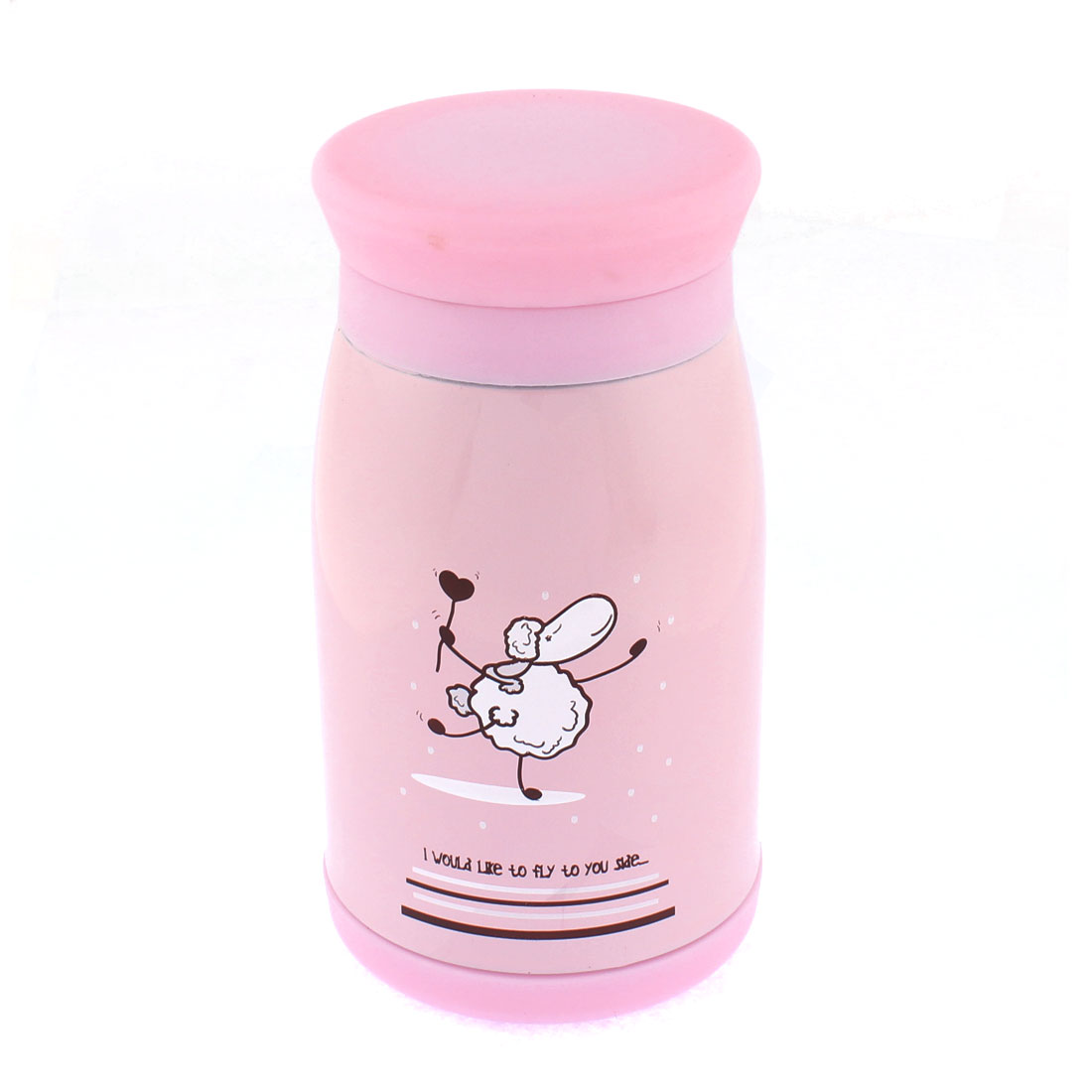Travel Coffee Water Thermos Insulated Vacuum Bottle Pink