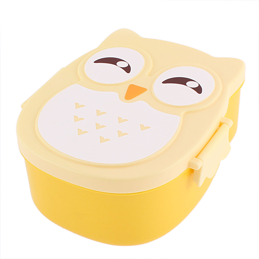 Plastic Microwave Lunch Box Food Storage Container Case Yellow