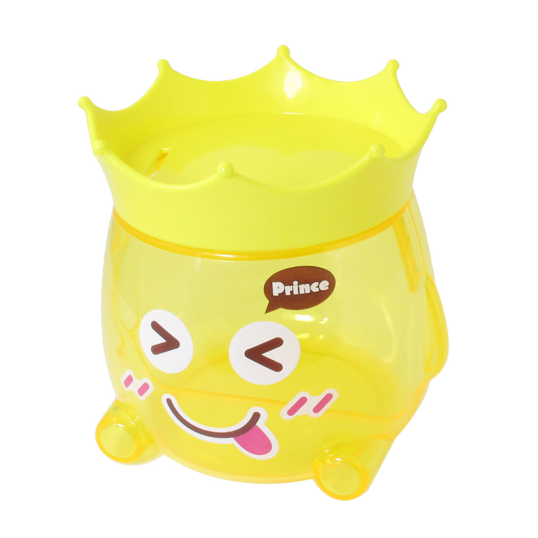 Cartoon Design Yellow Coin Money Saving Piggy Box Bank Gift