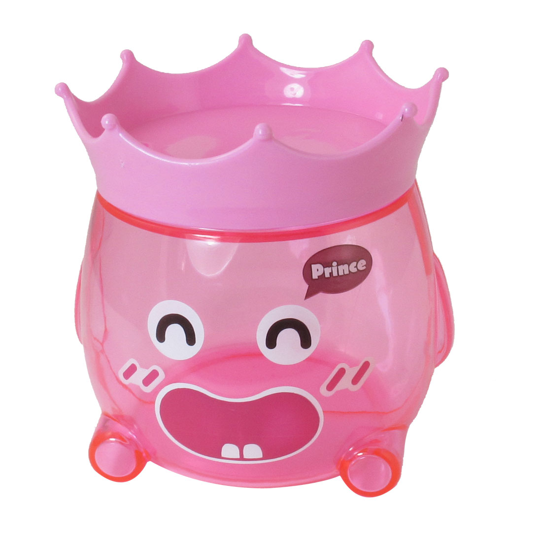 Pink Plastic Piggy Bank Coin Money Safe Box Candy Jar Toy Gift