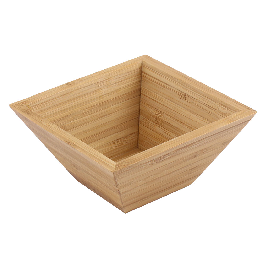 Home Kitchen Bamboo Square Salad Bowl Serving Dishes Dinnerware