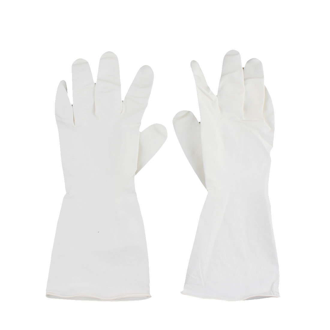 Kitchen Wash Dishes Rubber Gloves Sleeves Cleaning Tool Pair