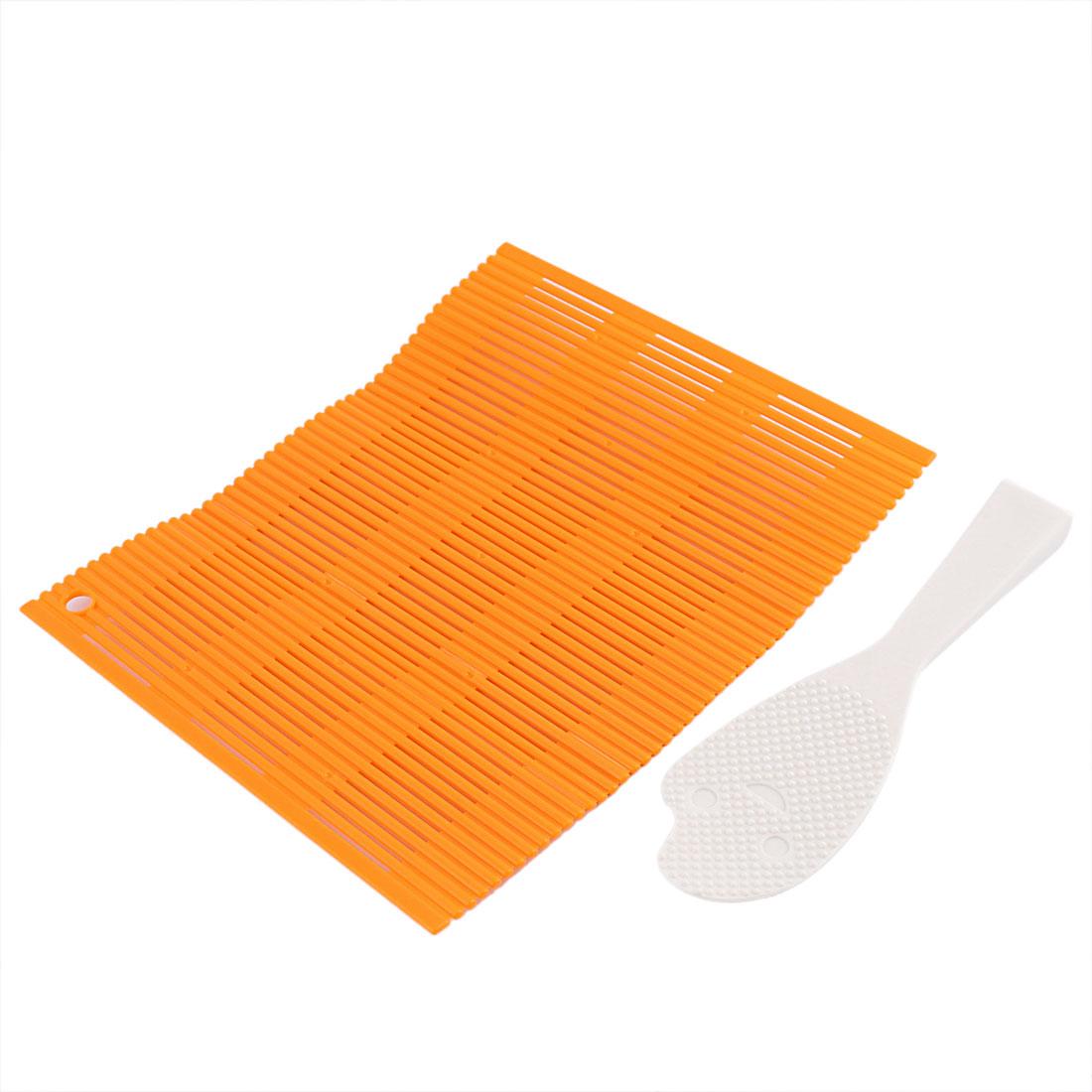 Kitchen Plastic DIY Sushi Roller Maker Rolling Mat Pad Tool Set