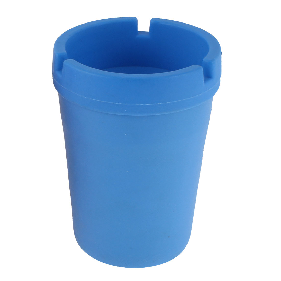 Travel Auto Car Plastic Extinguishing Butt Bucket Cigarette Ashtray Holder Blue