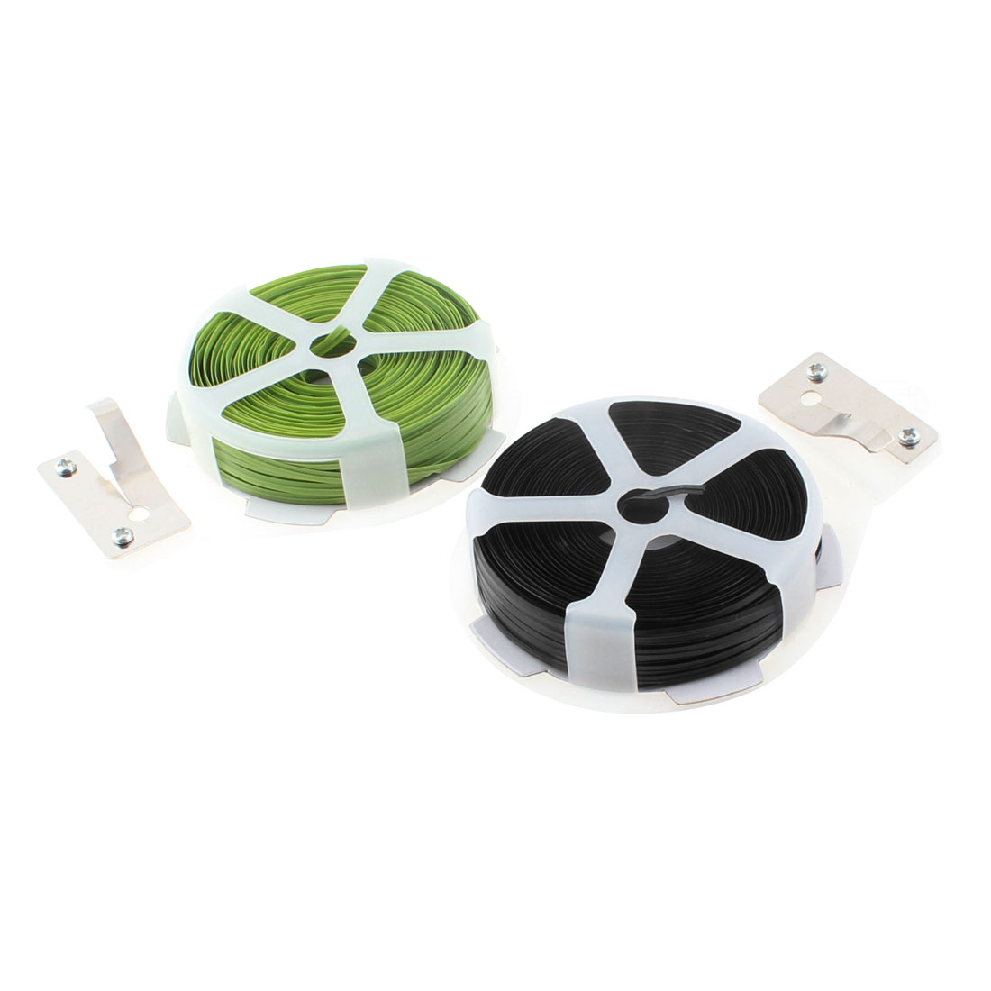 Gardening Packing Crafts Twist Tie Roll Strapping String Tape Cutter 2pcs